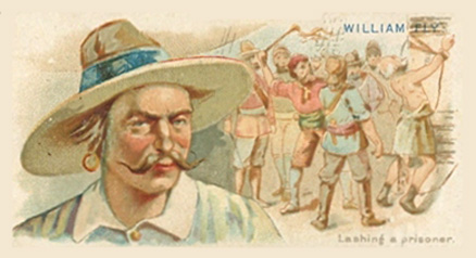 1888 Allen & Ginter Pirates of the Spanish Main William Fly #3 Non-Sports Card