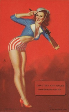 1945 Mutoscope Artist Pin Up   #10 Non-Sports Card
