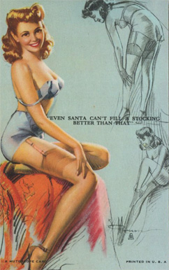 1945 Mutoscope Artist Pin Up   #11 Non-Sports Card
