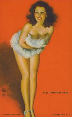 1945 Mutoscope Artist Pin Up   #12 Non-Sports Card
