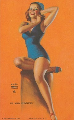 1945 Mutoscope Artist Pin Up   #57 Non-Sports Card