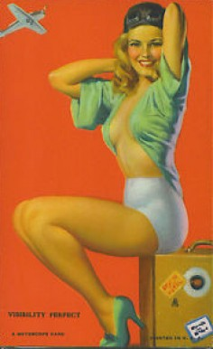 1945 Mutoscope Artist Pin Up   #58 Non-Sports Card