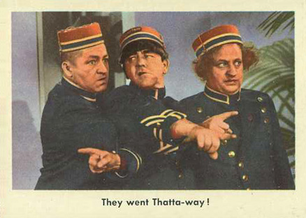 1959 Three Stooges   #5 Non-Sports Card