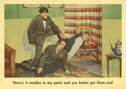 1959 Three Stooges   #11 Non-Sports Card