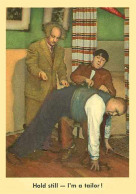 1959 Three Stooges   #12 Non-Sports Card