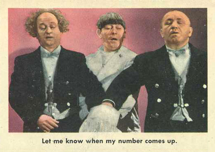 1959 Three Stooges   #33 Non-Sports Card
