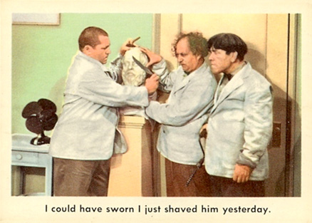 1959 Three Stooges   #54 Non-Sports Card