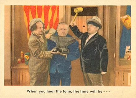 1959 Three Stooges   #55 Non-Sports Card