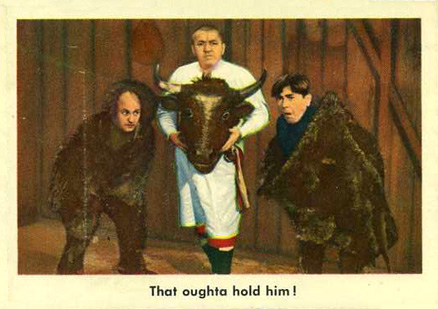 1959 Three Stooges   #57 Non-Sports Card
