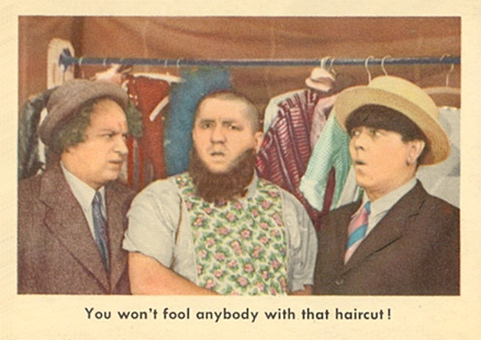 1959 Three Stooges   #64 Non-Sports Card