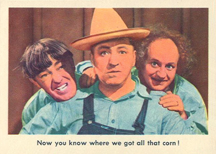 1959 Three Stooges   #76 Non-Sports Card