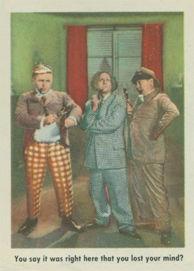 1959 Three Stooges   #80 Non-Sports Card