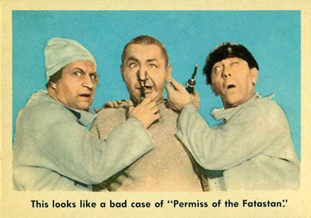 1959 Three Stooges   #82 Non-Sports Card