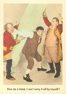 1959 Three Stooges   #85 Non-Sports Card