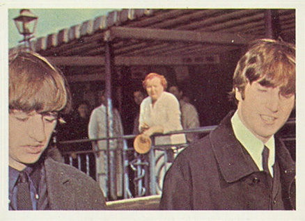 1964 Beatles Color Ringo and John #9 Non-Sports Card