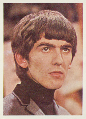 1964 Beatles Color George Harrison 11 Non Sports Card