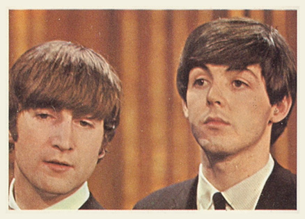 1964 Beatles Color John and Paul #13 Non-Sports Card