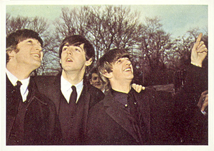 1964 Beatles Color John, Paul and Ringo #23 Non-Sports Card