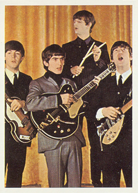 1964 Beatles Color Beatles in concert #30 Non-Sports Card