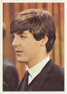 1964 Beatles Color Paul McCartney #38 Non-Sports Card