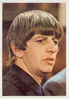 1964 Beatles Color Ringo Starr #45 Non-Sports Card