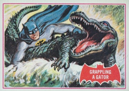 1966 Batman A Series   #2A Non-Sports Card