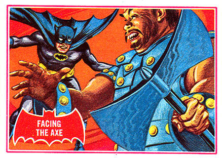 1966 Batman A Series   #6A Non-Sports Card