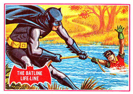 1966 Batman A Series   #7A Non-Sports Card