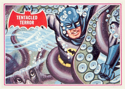 1966 Batman A Series   #8A Non-Sports Card