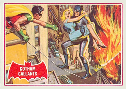 1966 Batman A Series   #15A Non-Sports Card
