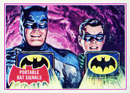 1966 Batman A Series   #16A Non-Sports Card