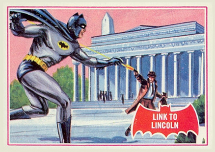 1966 Batman A Series   #17A Non-Sports Card
