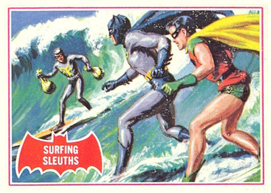 1966 Batman A Series   #20A Non-Sports Card