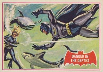 1966 Batman A Series   #14A Non-Sports Card