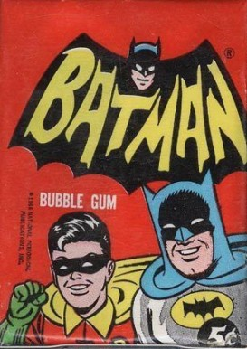 1966 Batman A Series  Wax Pack #WP Non-Sports Card