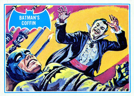 1966 Batman B Series Batman's Coffin #13B Non-Sports Card