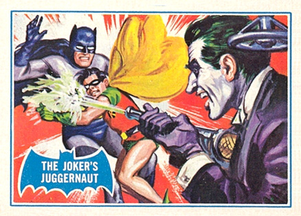1966 Batman B Series The Joker's Juggernaut #23B Non-Sports Card
