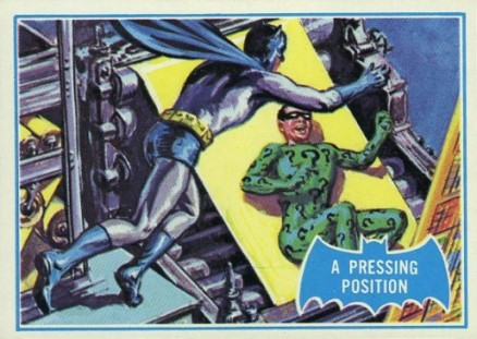 1966 Batman B Series A Pressing Position #36B Non-Sports Card