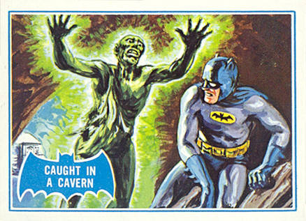 1966 Batman B Series Caught in a Cavern #39B Non-Sports Card