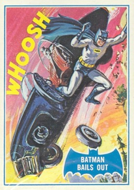 1966 Batman B Series Batman Bails Out #40B Non-Sports Card