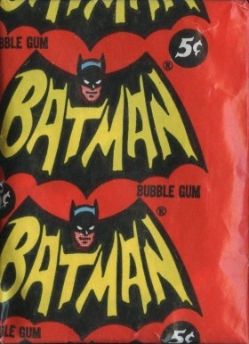 1966 Batman B Series Wax Pack #WP Non-Sports Card