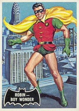 1966 Batman Black Bat Robin - Boy Wonder #2 Non-Sports Card