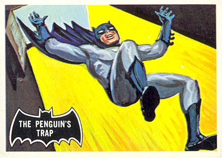 1966 Batman Black Bat   #16 Non-Sports Card