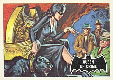 1966 Batman Black Bat Queen of Crime #26 Non-Sports Card