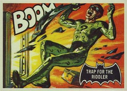 1966 Batman Black Bat Trap for the Riddler #45 Non-Sports Card