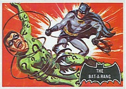 1966 Batman Black Bat The Bat-a-Rang #46 Non-Sports Card