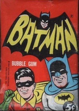 1966 Batman Black Bat  Wax Pack #WP Non-Sports Card