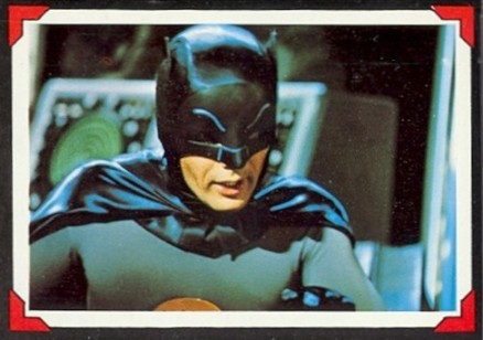 1966 Batman Riddler Back   #6 Non-Sports Card