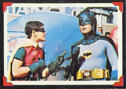 1966 Batman Riddler Back   #16 Non-Sports Card