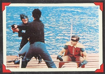 1966 Batman Riddler Back   #37 Non-Sports Card